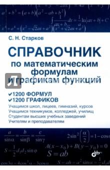 Справочник по математическим формулам и графикам функций справочник по математическим таблицам