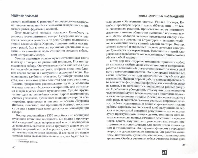 Иллюстрация 1 из 20 для Книга запретных наслаждений - Федерико Андахази | Лабиринт - книги. Источник: Лабиринт