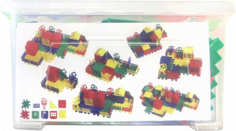 Иллюстрация 1 из 3 для Деревенский домик. Контейнер | Лабиринт - игрушки. Источник: Лабиринт