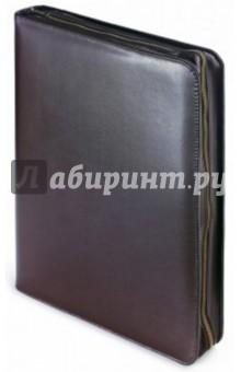 Папка с кольцевым зажимом Bosforo (с блокнотом, 60 листов, коричневая) (3-012/138) блокноты bruno visconti блокнот а5 megapolis flex