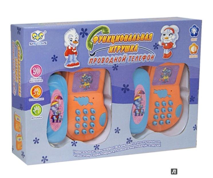 Иллюстрация 1 из 4 для Два телефона на проводе (35*6*23) (СС75605) | Лабиринт - игрушки. Источник: Лабиринт
