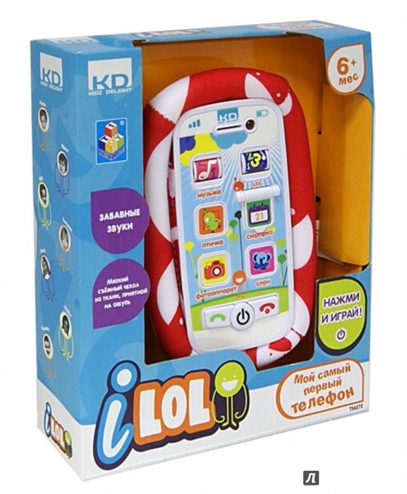 Иллюстрация 1 из 2 для I-LOL. Смартфон обучающий для малышей 170x200x50 (Т56272) | Лабиринт - игрушки. Источник: Лабиринт