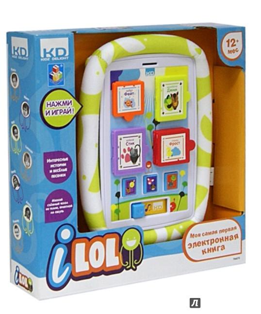Иллюстрация 1 из 2 для I-LOL. Электронная книга обучающая для малышей 250x250x50 (Т56273) | Лабиринт - игрушки. Источник: Лабиринт