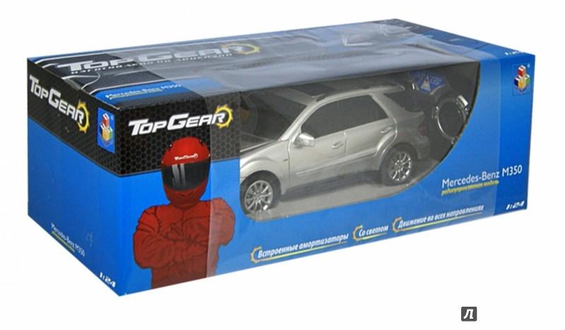 Иллюстрация 1 из 2 для Top Gear радиоуправление Mercedes Benz M350 1:24 (Т56685) | Лабиринт - игрушки. Источник: Лабиринт