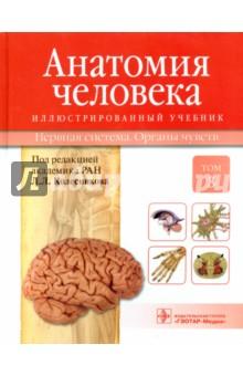 Анатомия человека. Учебник в 3-х томах. Том 3. Нервная система. Органы чувств шилкин в филимонов в анатомия по пирогову атлас анатомии человека том 1 верхняя конечность нижняя конечность cd