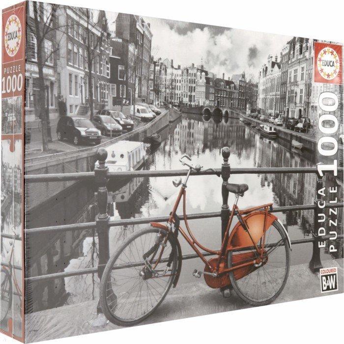 """Иллюстрация 1 из 6 для Пазл-1000 """"Амстердам"""" (14846)   Лабиринт - игрушки. Источник: Лабиринт"""