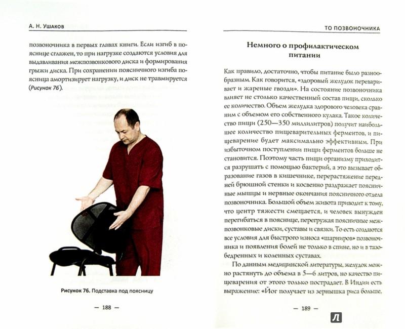 Иллюстрация 1 из 12 для Полюбите свой позвоночник. Техническое обслуживание позвоночника по методу доктора А.Н. Ушакова - Андрей Ушаков | Лабиринт - книги. Источник: Лабиринт