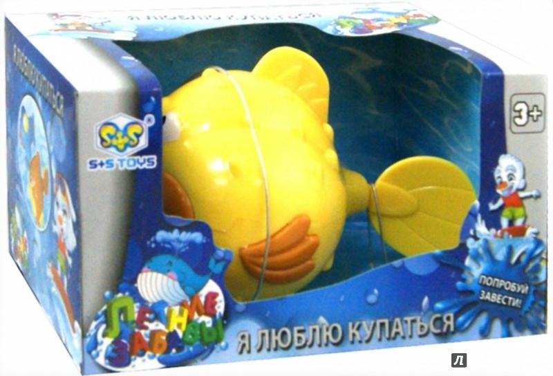 Иллюстрация 1 из 9 для Водоплавающая рыба в коробке (15*10*8см) (EF80032R) | Лабиринт - игрушки. Источник: Лабиринт