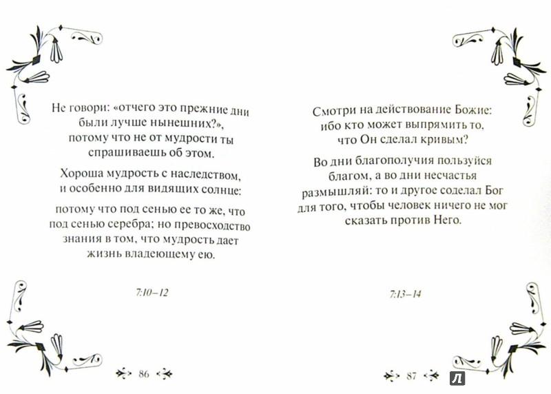 Иллюстрация 1 из 6 для Мудрость Библии. Книга Екклесиаста | Лабиринт - книги. Источник: Лабиринт