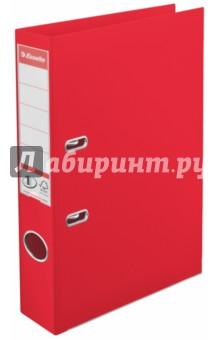 Папка с арочным механизмом (A4, 50 мм, красная) (624072).