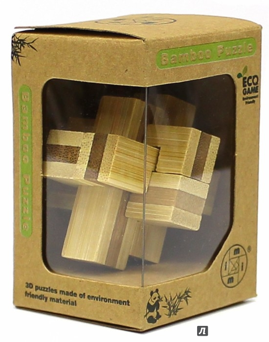 Иллюстрация 1 из 12 для Головоломка из бамбука,ассортимент (Д388/МТ7214) | Лабиринт - игрушки. Источник: Лабиринт