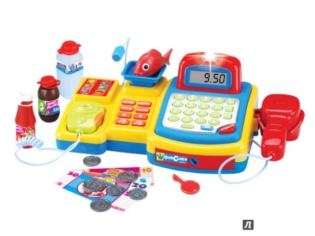 Иллюстрация 1 из 6 для Касса Фикси Магазин (6 функций, 16 предметов) (GT8217) | Лабиринт - игрушки. Источник: Лабиринт