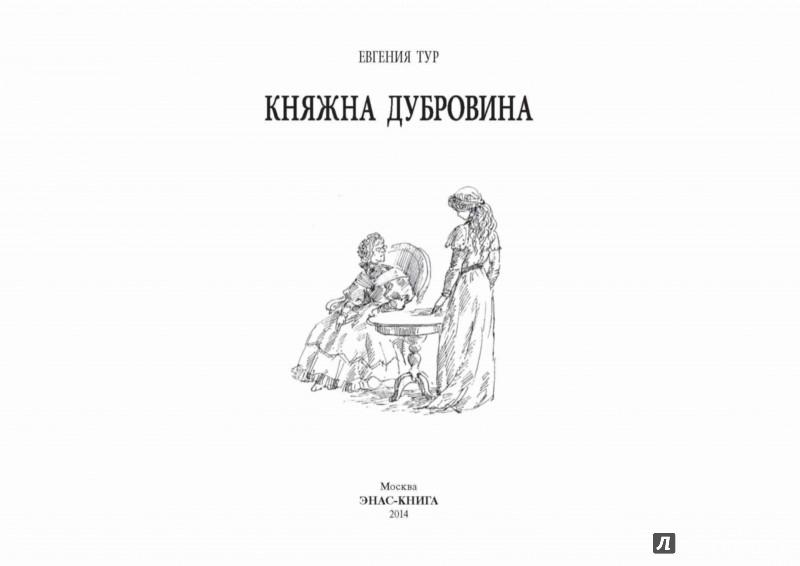 Иллюстрация 1 из 26 для Княжна Дубровина - Евгения Тур   Лабиринт - книги. Источник: Лабиринт
