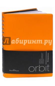 Ежедневник полудатированный Orbit (А5, оранжевый) (3-159/05)