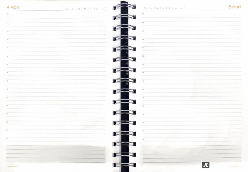 """Иллюстрация 1 из 6 для Ежедневник полудатированный """"Orbit"""" (А6, чёрный) (3-160/04)   Лабиринт - канцтовы. Источник: Лабиринт"""