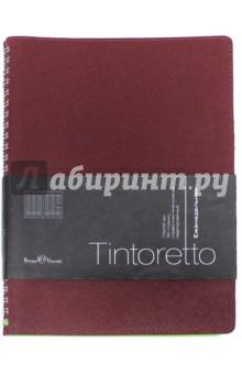 """Еженедельник недатированный """"Tintoretto"""" (В5, бордовый) (3-513/04)"""