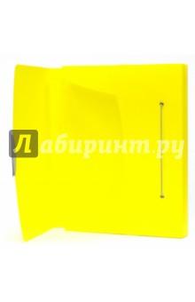 Папка-бокс с резинкой (A4, 40 мм, желтая) (624052)