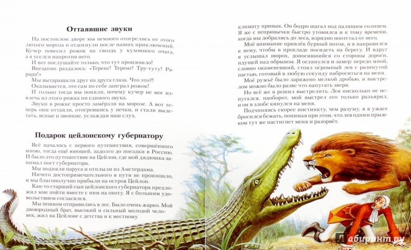 Иллюстрация 1 из 6 для Приключения барона Мюнхгаузена - Распе, Бюргер | Лабиринт - книги. Источник: Лабиринт