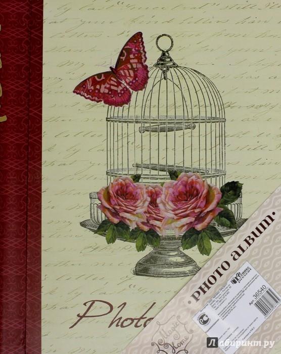 """Иллюстрация 1 из 3 для Фотоальбом с обложкой из картона """"БАБОЧКИ"""" (36540)   Лабиринт - сувениры. Источник: Лабиринт"""