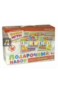 Подарочный набор 3 в 1 Фиксики (00384) origami игра 3 в 1 лото домино мемо набор из 3х пазлов кукла winx club
