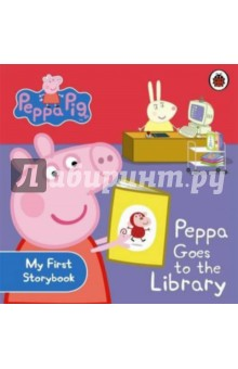 Peppa Goes to the Library heart goes last the