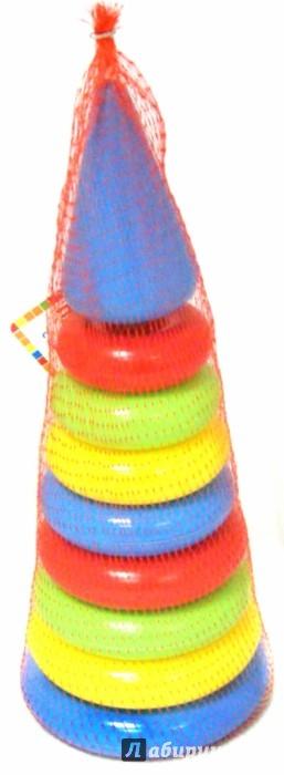 Иллюстрация 1 из 23 для Пирамидка 8 колец с наконечником (008ПМН/1132229) | Лабиринт - игрушки. Источник: Лабиринт