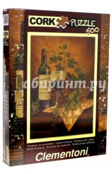"Пазл-500. Анна Браун ""Красное вино"". Пробковый (30202)"