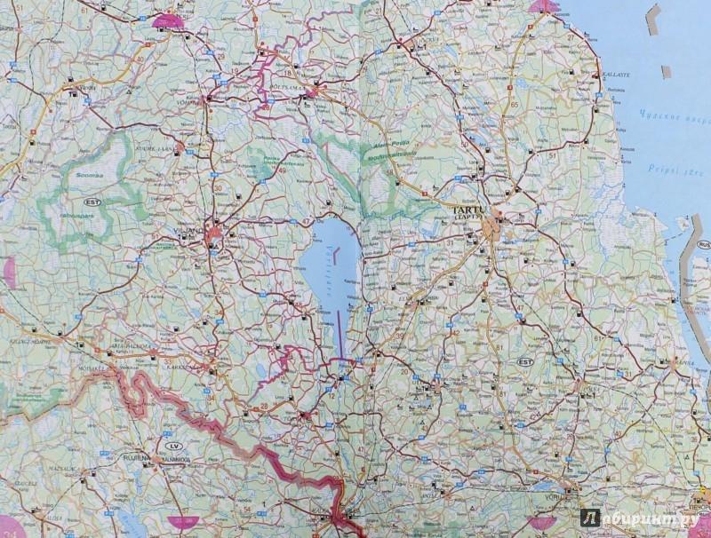 Иллюстрация 1 из 5 для Атлас автомобильных дорог. ЕВРОПА. Западная Европа,  страны Балтии, Беларусь, Украина, Молдова | Лабиринт - книги. Источник: Лабиринт