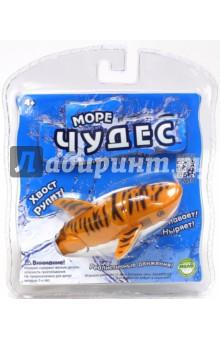 Море чудес. Акула-акробат Тигра, 12 см (126212-1) интерактивная игрушка redwood акула акробат тайгер с аквариумом от 3 лет фиолетовый 159025