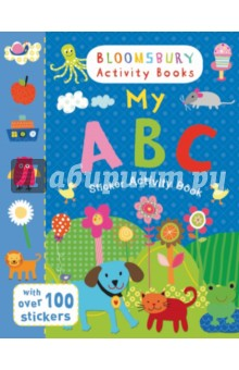 My ABC Sticker Activity Book the usborne terrific colouring and sticker book