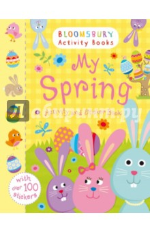 My Spring Activity and Sticker Book happy holiday sticker activity book