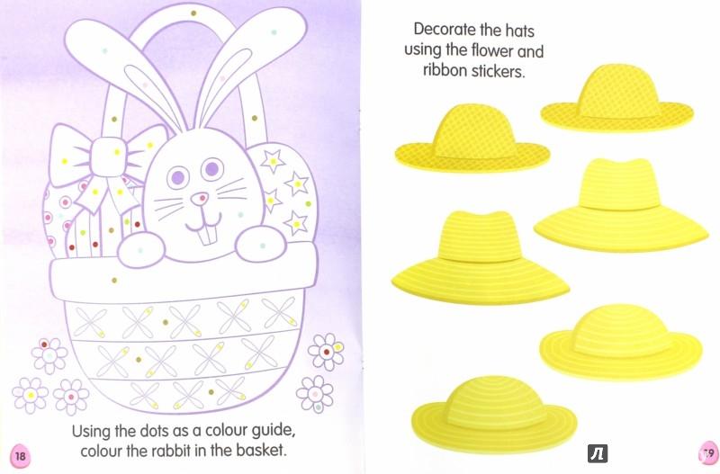 Иллюстрация 1 из 8 для My Spring Activity and Sticker Book | Лабиринт - книги. Источник: Лабиринт
