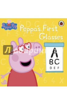 Peppa's First Pair of Glasses what she left