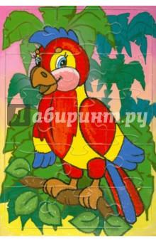 Купить Пазл-15 Попугай (П-1515), Аделаида, Пазлы (15-50 элементов)