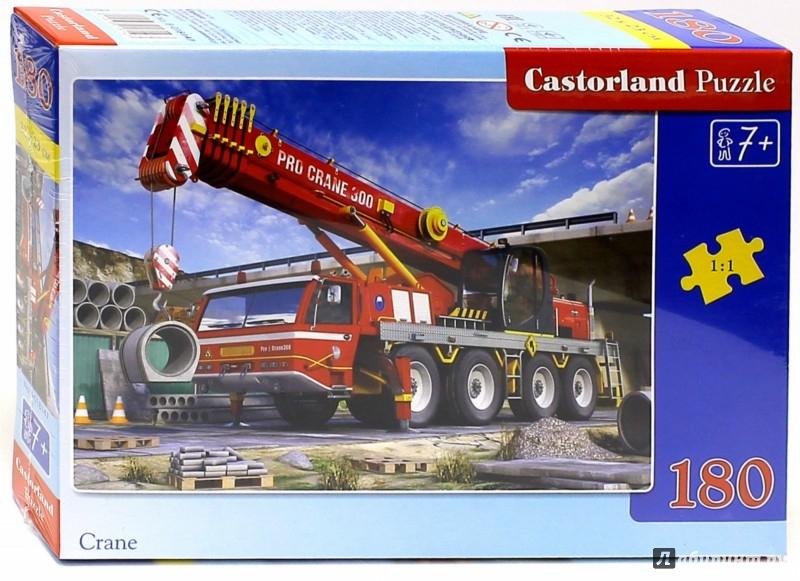 """Иллюстрация 1 из 4 для Puzzle-180 """"Авто-кран"""" (В-018147)   Лабиринт - игрушки. Источник: Лабиринт"""