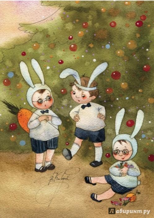 Иллюстрация 1 из 33 для Зимние картинки. Набор открыток, 12 шт. | Лабиринт - сувениры. Источник: Лабиринт