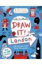 Kindberg Sally Draw it! London - Activity Book цена