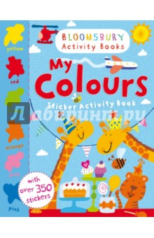 My Colours. Sticker Activity Book the usborne terrific colouring and sticker book