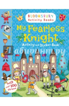 My Fearless Knight. Activity and Sticker Book my first dinosaur sticker activity book