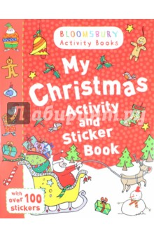 My Christmas Activity and Sticker Book my abc sticker activity book