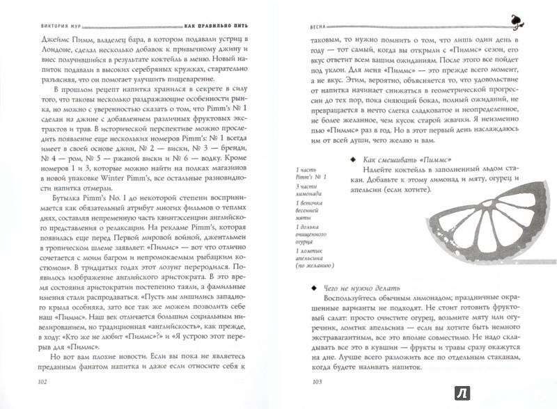 Иллюстрация 1 из 8 для Как правильно пить. От зимнего глинтвейна до летнего крюшона - Виктория Мур | Лабиринт - книги. Источник: Лабиринт