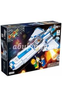 Конструктор Космический летательный аппарат (6406) банбао игрушка пластм конструктор космический летательный аппарат 237 дет banbao