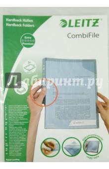 Папка-уголок A4, прозрачная, 3 шт. (47280003)