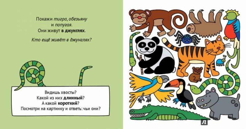 Иллюстрация 1 из 14 для Учим животных и противоположности | Лабиринт - книги. Источник: Лабиринт