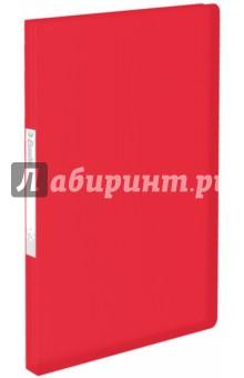 Папка A4 с 40 вкладышами красная (623998) папка aro c 20 вкладышами