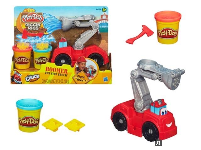 Иллюстрация 1 из 9 для Набор Игровой Бумер. Пожарная машина (A5418E24) | Лабиринт - игрушки. Источник: Лабиринт