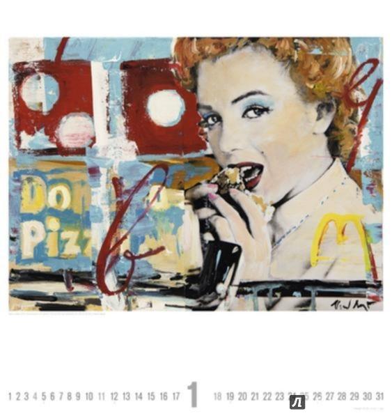 Иллюстрация 1 из 3 для Календарь 2015. ГЛАМУР (45x48 см) (77552) - Heiner Meyer | Лабиринт - сувениры. Источник: Лабиринт