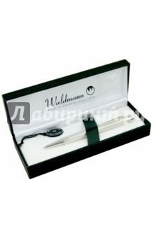 Ручка шариковая, Серебро 925 пробы (130019) ручка шариковая серебро 925 пробы 130019