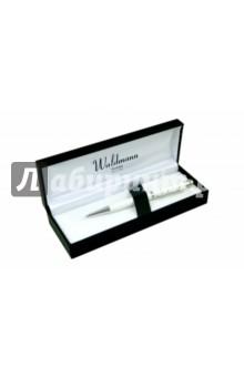 Ручка шариковая, Серебро 925 пробы (0006) ручка подарочная шариковая manzoni bellaria красн серебр blrrd b