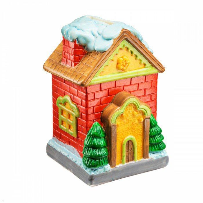 Иллюстрация 1 из 2 для Копилка-раскраска. Домик (DIY010) | Лабиринт - игрушки. Источник: Лабиринт
